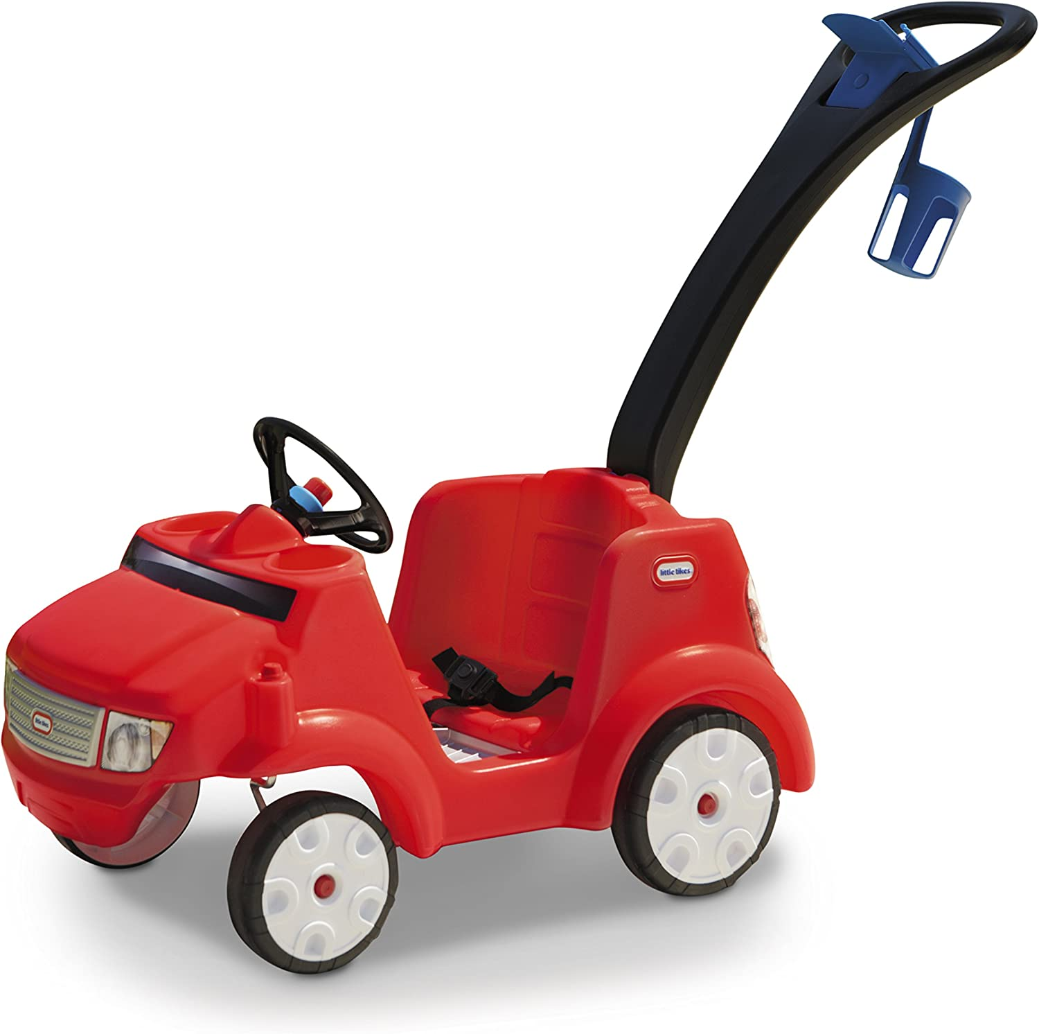 Little Tikes Quiet Drive Buggy - Red Ride On (Amazon Exclusive)