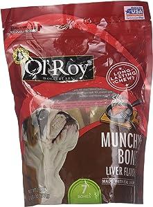 Munchy Bone Liver flavor 20 oz 2 pack