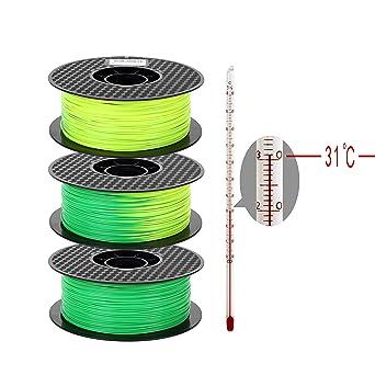 Filamento de impresora 3D PLA 1,75 mm, filamento PLA (From Green ...