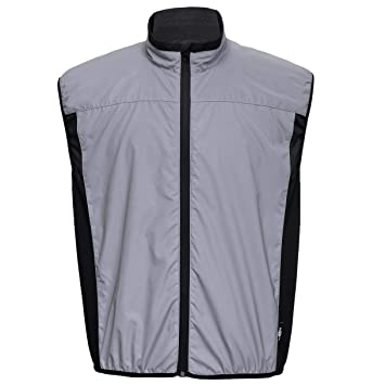BTR High Visibility Reflective Silver Glow in the Dark High Vis Running and  Cycling Gilet and f09f228d2