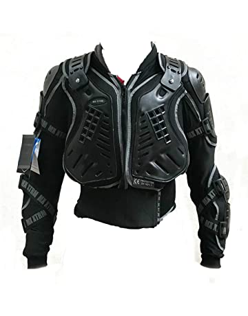 MOTORBIKE ADULT BODY ARMOUR JACKET XTRM PROTECTIVE GEAR New Motocross Quad MX Off-Road MTB PIT Racing Touring Sports Unisex Chest Spine Elbow /& Shoulder Professional ATV Sports Full Body Deflector