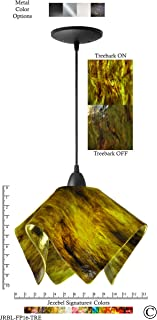 product image for Jezebel Signature JRBL-FP16-TRE Black Flame Pendant, Large, Treebark