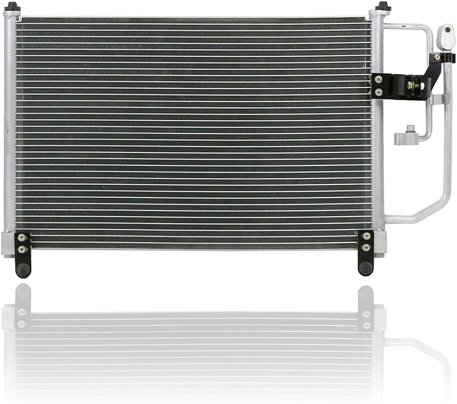 A-C Condenser For//Fit 99-00 Mazda Miata Without Drier PACIFIC BEST INC NC1061480B
