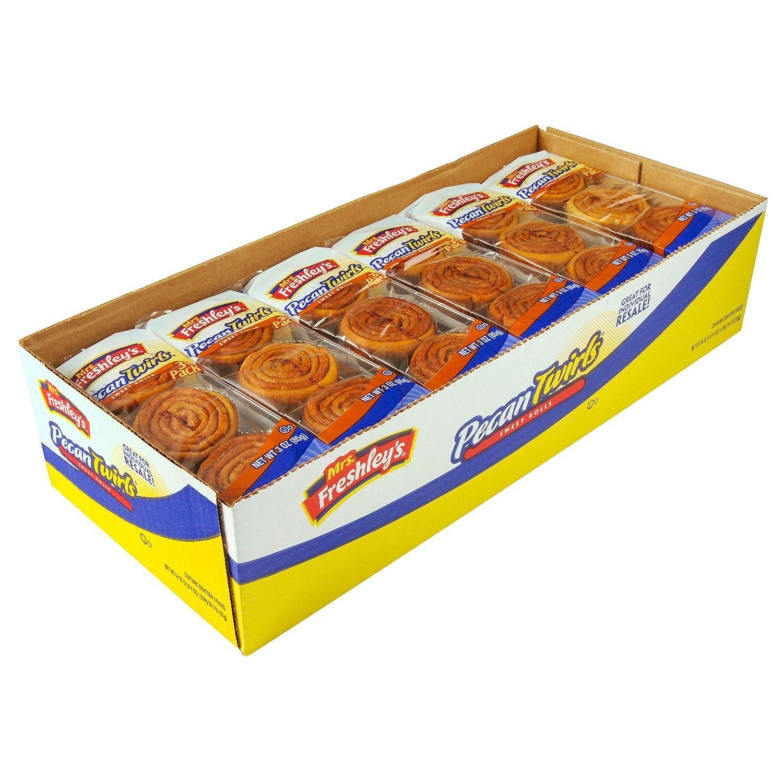 Mrs. Freshley's Pecan Twirls Sweet Rolls (3 per pack, 18 pk.) (pack of 2)