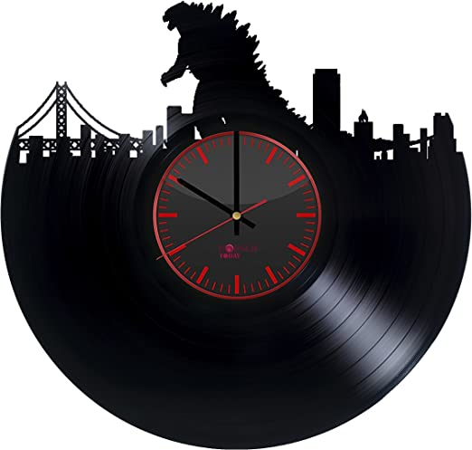 Borschtoday Queen Vinyl Record Wall Clock Get Unique Living Room Gift Ideas For Adults And Youth Rock Music Band Unique Art Design Kitchen Or Bedroom Wall Decor Home Kitchen Home