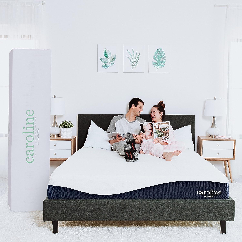 "Modway Caroline 10"" Cooling Air Gel Memory Mattress with CertiPUR-US Certified Foam, King, 0"