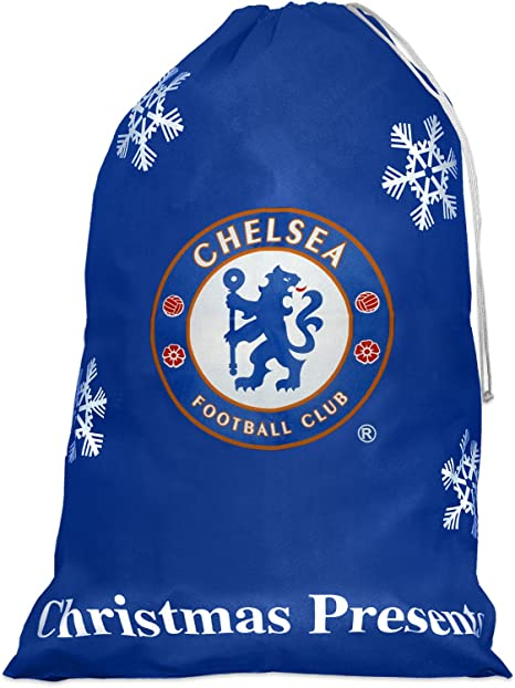 Amazon Com Chelsea Fc Christmas Stocking Jumbo Home Kitchen