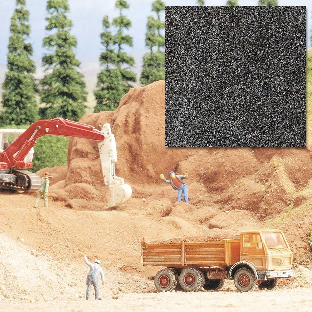 Busch 7524 Quarzsand dunkelgrau