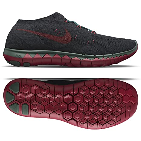 quality design 323d0 d58b8 Nike Free Flyknit 3.0 Undercover Gyakusou 810821-006 Black Green Red Men s  Shoes