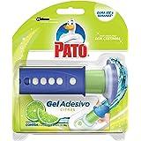 Desodorizador Sanitário Pato Gel Adesivo Aplicador + Refil Citrus 1 unidade