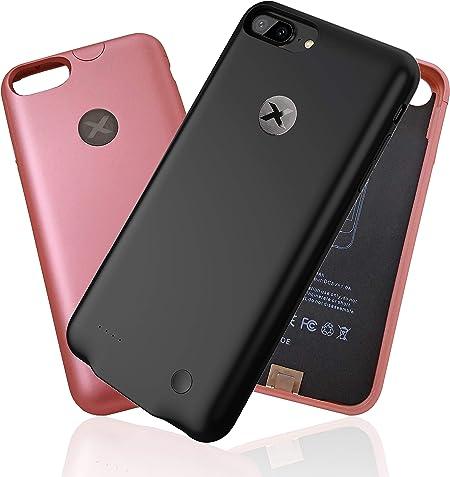 ULTRA SLIM Battery COVER per iPhone 6/6s/7 e PLUS | BAXET Custodia con Batteria | POWER BANK | COVER CARICABATTERIE | ultra sottile e leggera | fino a ...