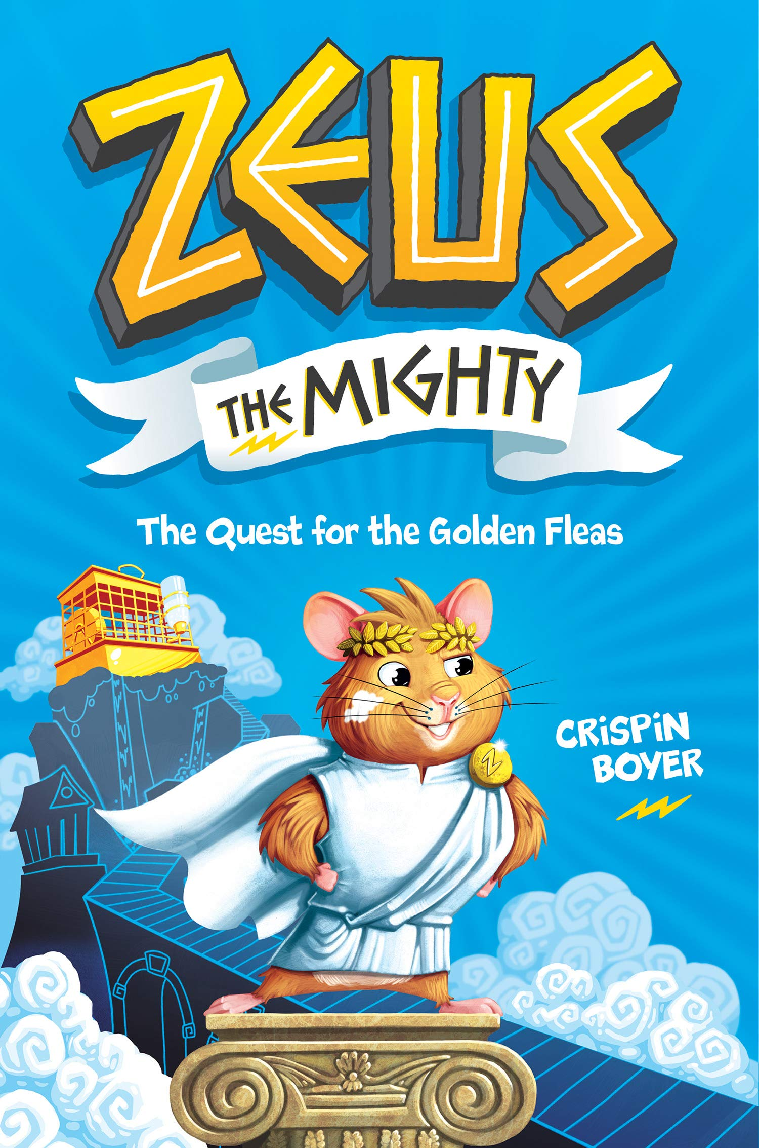 Zeus the Mighty: The Quest for the Golden Fleas: Crispin