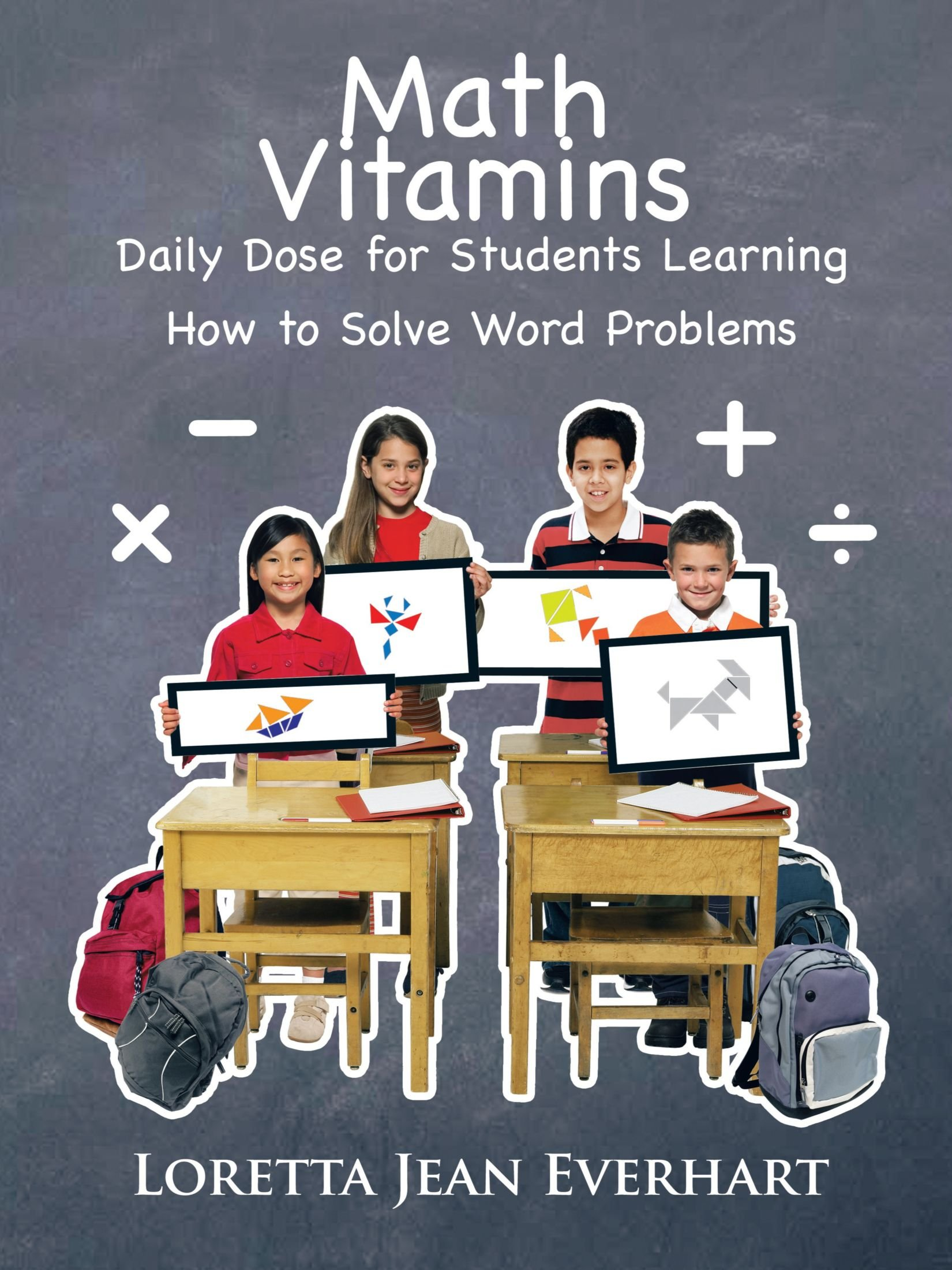 Download Math Vitamins: Daily Dose for Students Learning How To Solve Word Problems pdf epub