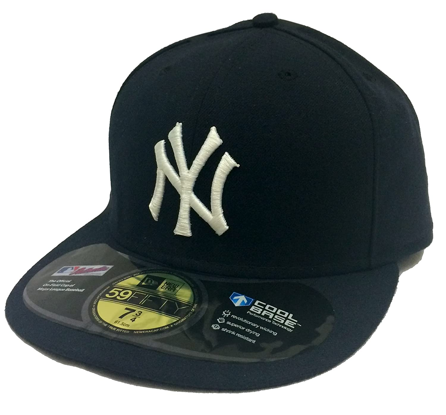 95a0f452561296 Amazon.com: New Era 59Fifty On-Field Inaugural Season 2009 New York Yankees  Navy Fitted Cap (8): Clothing