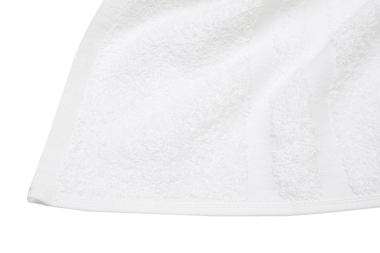 """Serie /""""Amalfi/"""" in Morbida e voluminosa Spugna 70x140 cm Bianco ZOLLNER/® 2 Pezzi d/'Asciugamani//Teli da Doccia Direttamente dallo specialista per alberghi con Due bordature 100/% Cotone"""