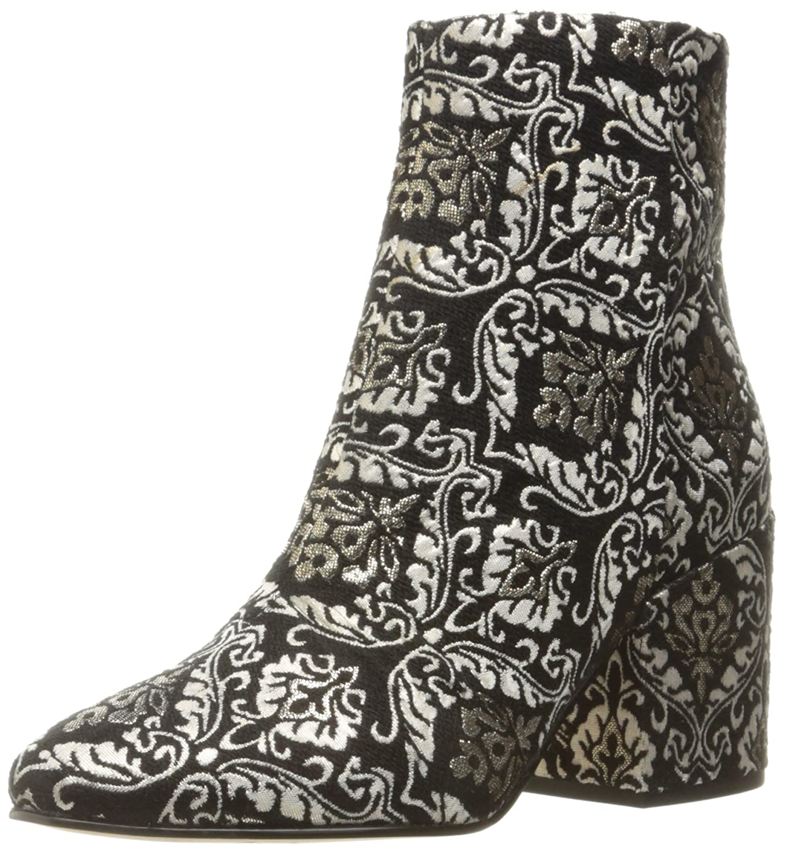 Sam Edelman Women's Taye Ankle Bootie B01LVYJVIL 7.5 B(M) US|Black/Gold