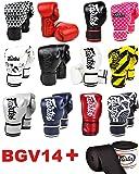 Fairtex BGV14 Microfibre Boxing Gloves Muay Thai