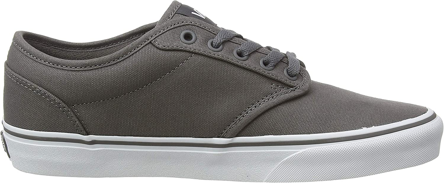 For Sale Vans Men's Low-top Sneakers Grey (Pewter/White) mR7dkM