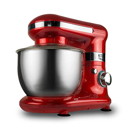 4. Hi-Tech 600W Stainless Steel Chef Master 101 Stand Mixer