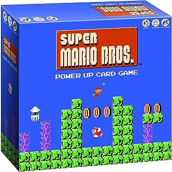 Super Mario Bros Power Up Juego de cartas | Super Mario Brothers Videojuego Nintendo NES Artwork