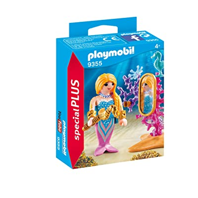 Playmobil Mairmaid with Mirror and Decoration 9355 Playmobil special plus Item: Toys & Games [5Bkhe1102829]