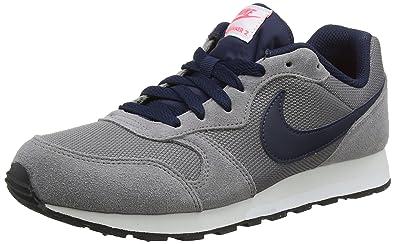 pretty nice 78096 1116c Nike Kinder Sneaker MD Runner 2, Sneakers Basses Mixte Enfant, Gris  (Gunsmoke/