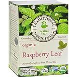 Traditional Medicinals Organic Raspberry Leaf Herbal Tea - Caffeine Free - 16 Bags