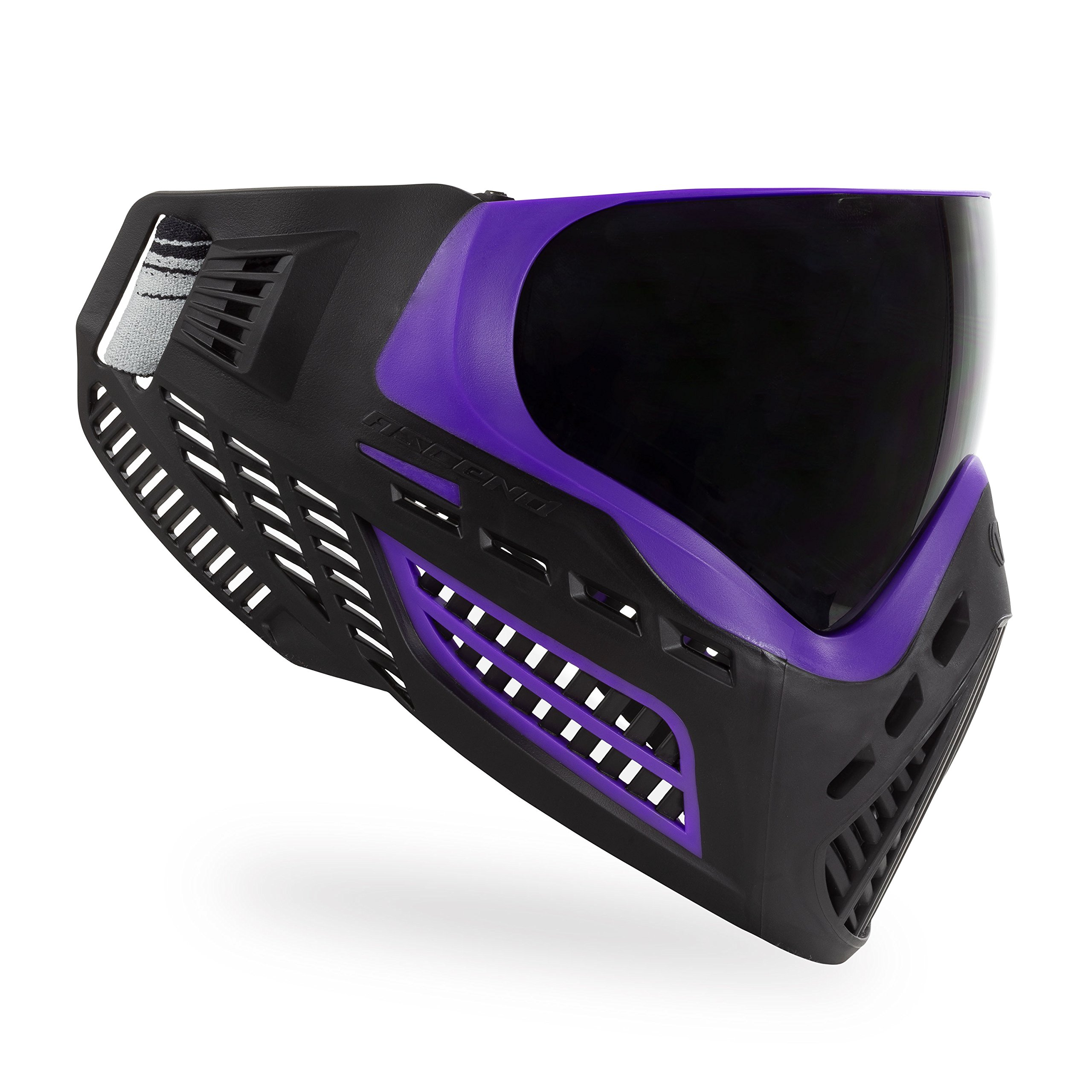 Virtue VIO Ascend Thermal Paintball Goggles with Dual Pane Lens (Purple Smoke) by Virtue Paintball