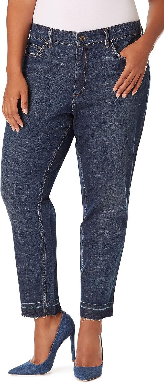 Vintage America Blues Plus Size Gratia Boyfriend Jeans