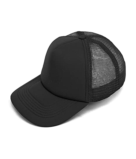 a277462fc608f One Color Foam Front Trucker Hat Mesh Back at Amazon Men s Clothing store