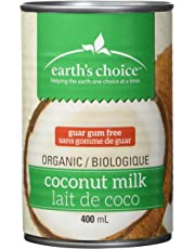 Earth's Choice, Organic Coconut Milk Premium (17% Fat) Guar Gum Free, 400ml