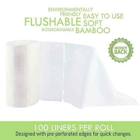 Amazon.com: Corazón de fieltro) pañal Liner Inserts (100 ...