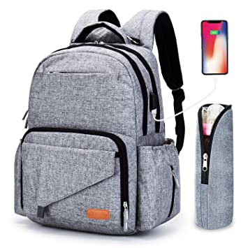 79a0d7b7c1 Amazon.com   Ankommling Diaper Bag Backpack