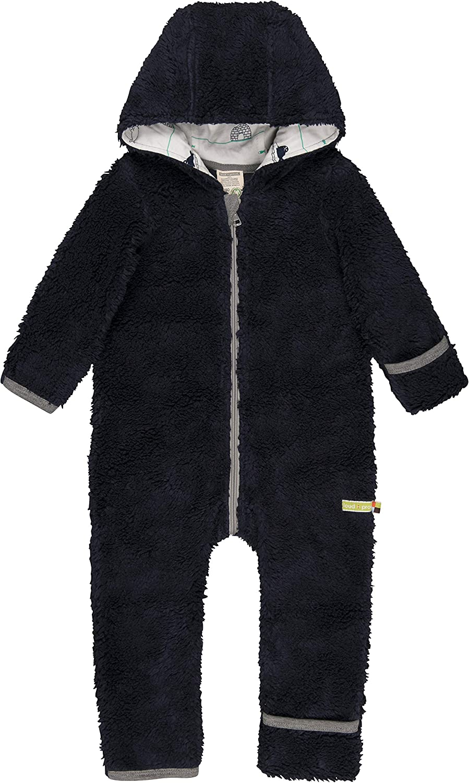 loud GOTS Zertifiziert Jacke proud Unisex Baby Pl/üsch aus Bio Baumwolle