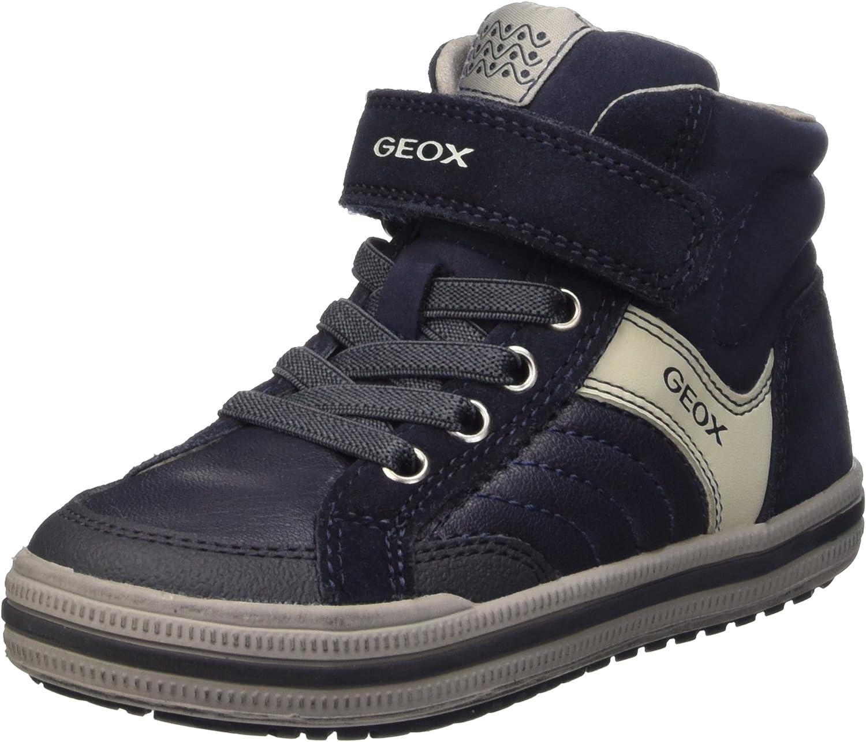 Geox Boys Jr Elvis a Hi-Top Sneakers