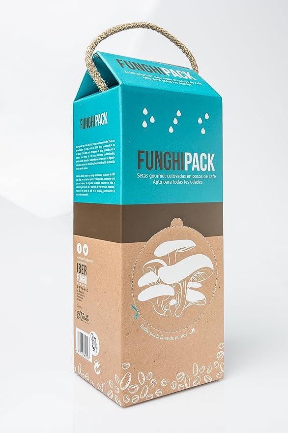 Funghipack-Kit de cultivo de setas sobre posos de café: Amazon.es ...