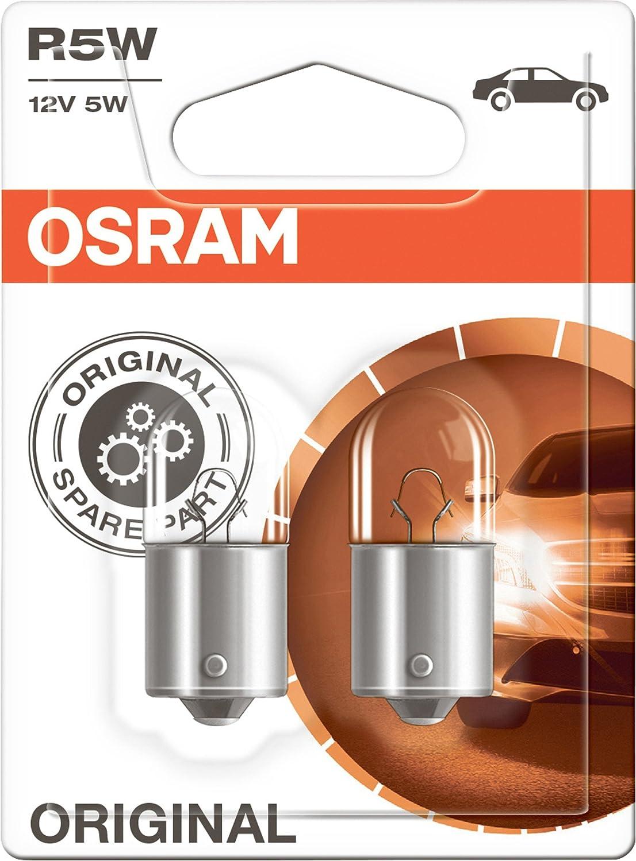 Osram 5007 02b Glühlampe Weiß Weiß Double Blister Set Of 2 Auto
