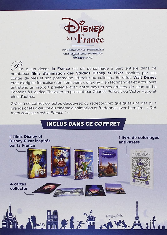Disney et la France - Coffret Collector : Les Aristochats + La Belle ...