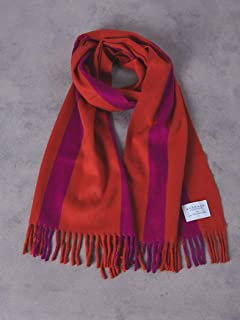 Wool Angora Scarf 1736-499-3033: Red