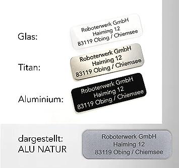 Robot de Micro drohnen de matrícula de cristal, titanio o aluminio ...