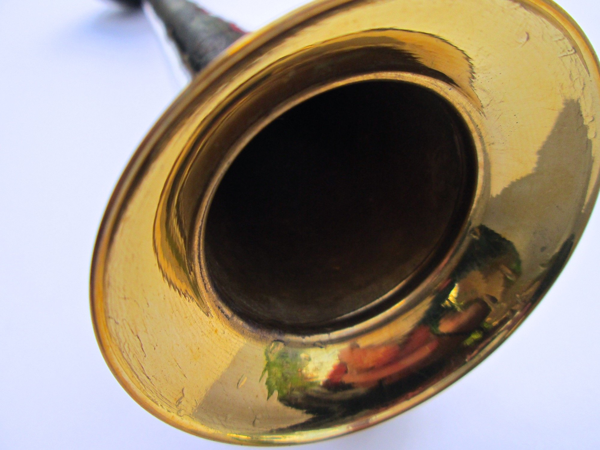 Straight Brass Bulb Horn by Folkroots (Image #6)