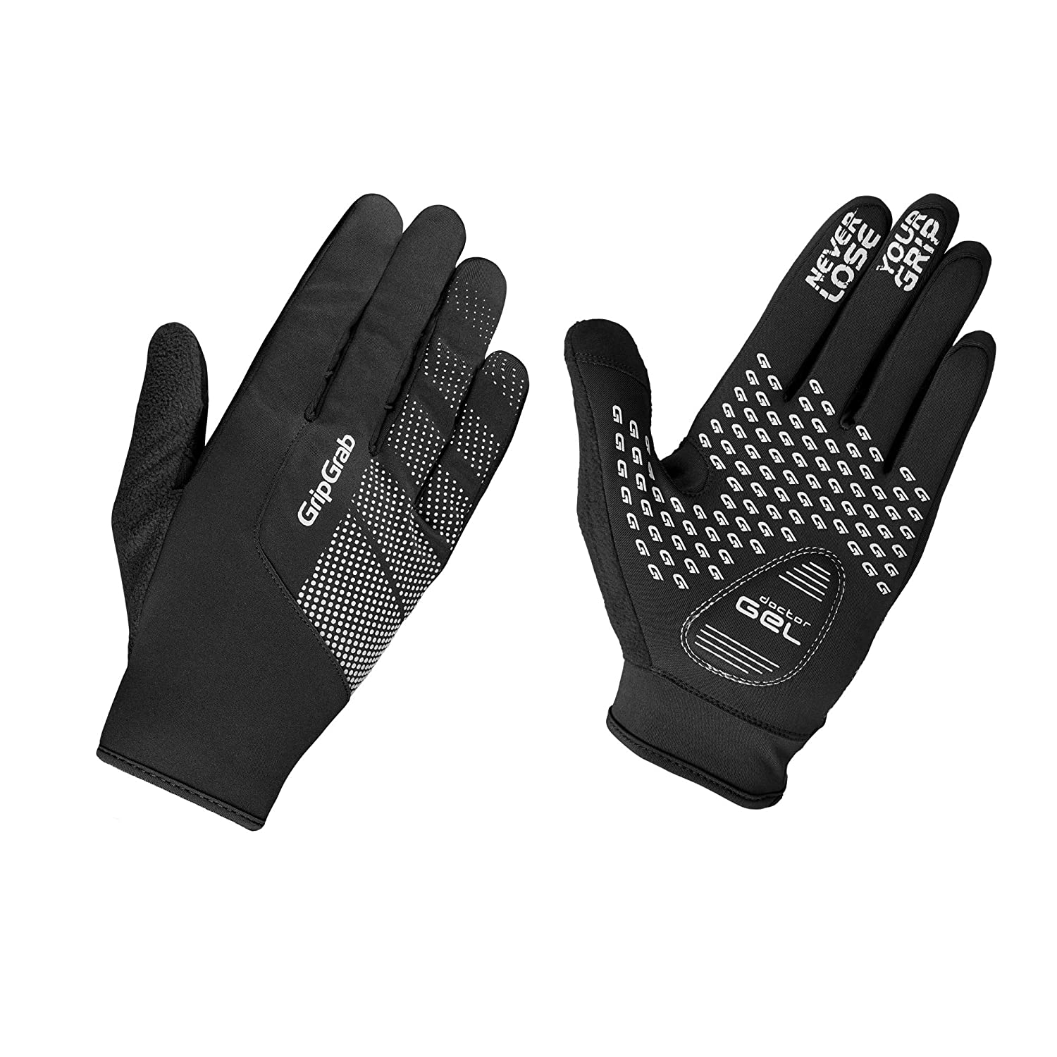 Grip Grab Supergel Bike Gloves Black