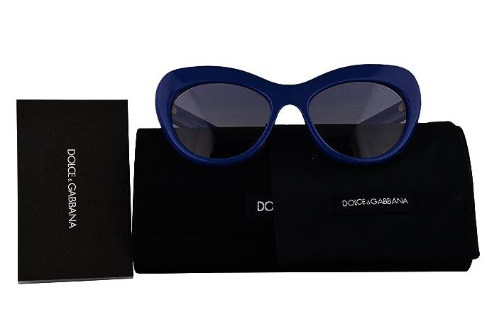 12ec04f2962d Image Unavailable. Image not available for. Color: Dolce & Gabbana  Authentic Sunglasses DG6110 Blue w/Blue ...