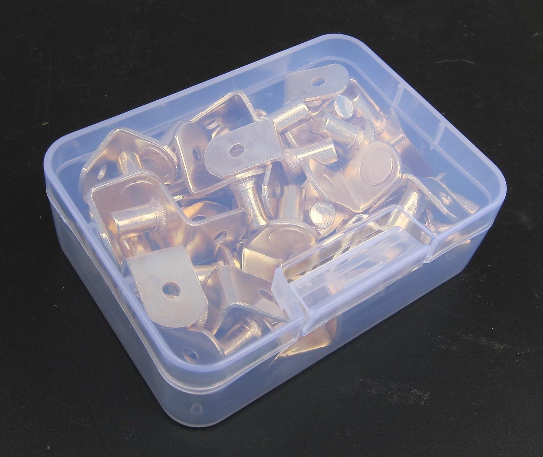 in Strong Storage Box LTD. Bracket-Style Shelf Support Nickel Furniture Cabinet Closet Shelf Bracket Pegs with Hole 36-Pack HANGZHOU FITTOOLS CO 1//4-Inch L-Shape Shelf Rests 36Piece Set