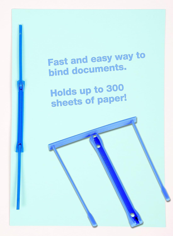 20 St/ück SECO Archiv-Clips Blau Kunststoff