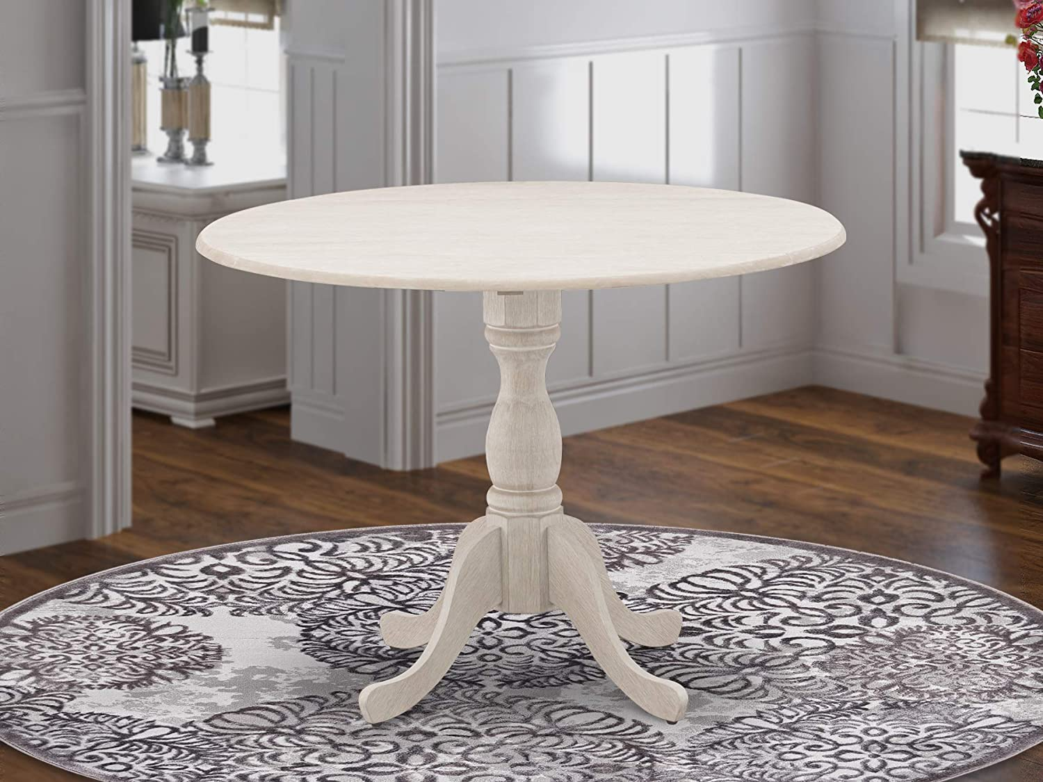 East West Furniture DMT-ABC-TP Dining Table, 42