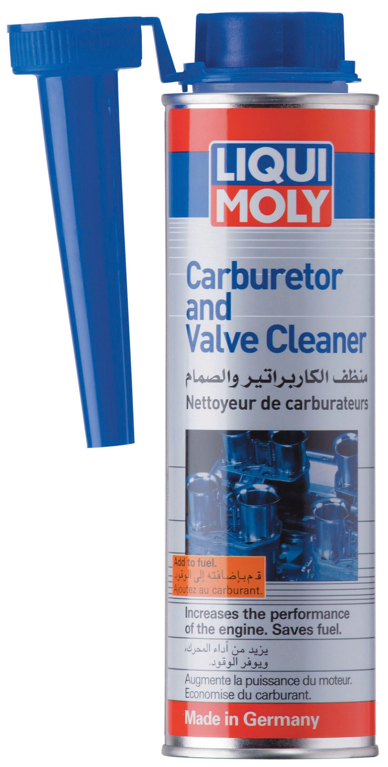 Liqui Moly (2507 Carb+ Valve Cleaner Fluid - 300 ml