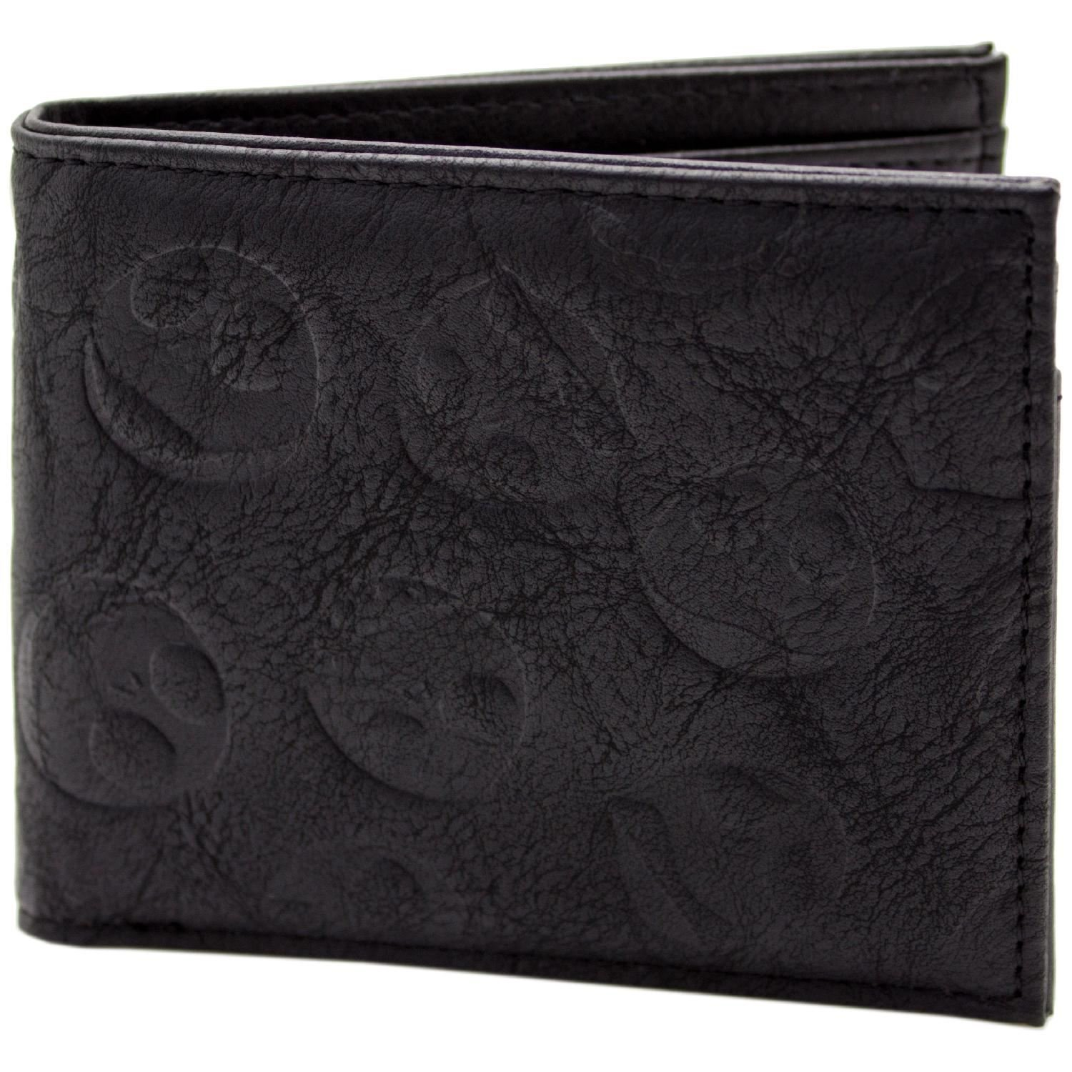 Cartera de Nightmare Before Christmas Jack Cara en Relieve ...