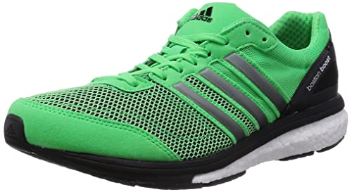 huge discount 98b77 c914f adidasAdizero Boston Boost 5 - Scarpe Running Uomo, Verde (Vert (Flash  Green S15