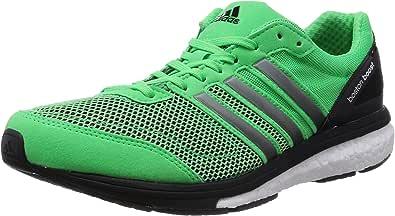 adidasAdizero Boston Boost 5 - Zapatillas de Running Hombre, Color Verde, Talla 47 1/3: Amazon.es: Zapatos y complementos